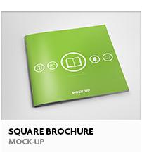 Square Magazine Mock-Up - 14
